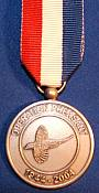 Operation Pheasant medal, a gift from the people of Brabant area of Holland.