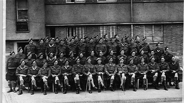 'A' Company 5th Camerons Germany 1945
