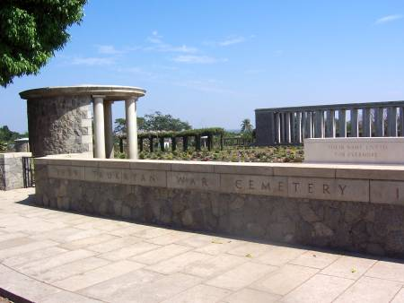 Entrance to Taukkyan cemetery