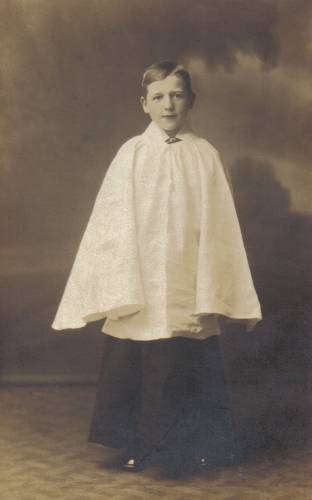Choirboy George Sands, age 12