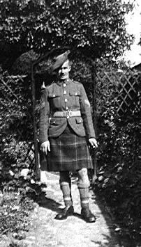 Sgt Arthur Crockett Liverpool Scottish 1940
