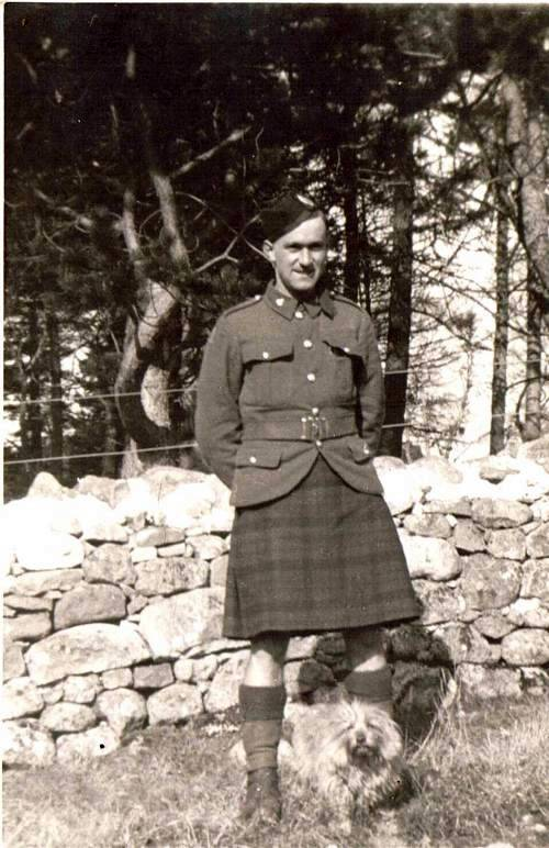 Private Donald Mackintosh, Queens Own Cameron Highlanders