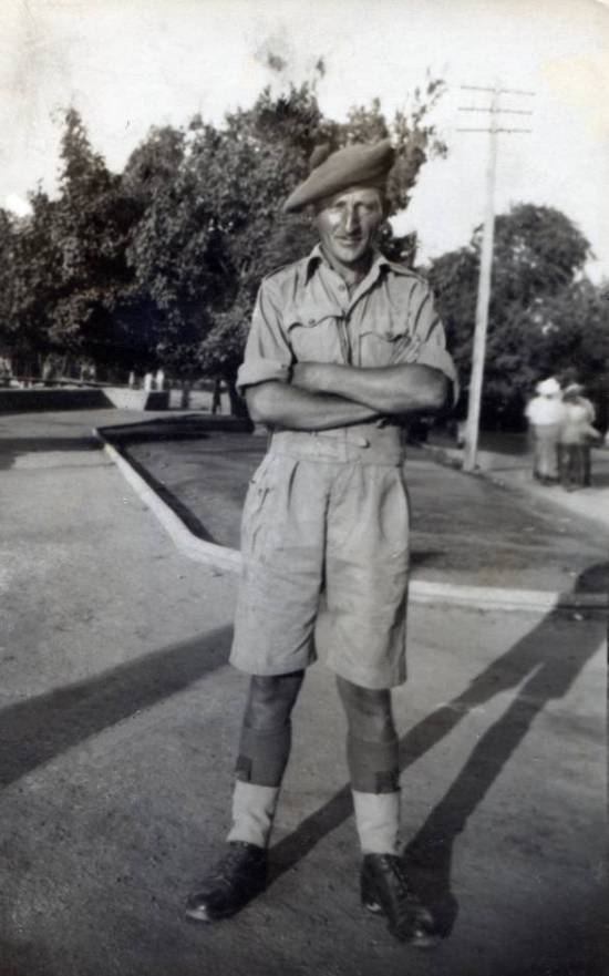 5th Cameron Corporal Andrew Ironside, Ismalia, North Africa Seprtember 1942.