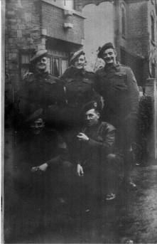 5 Camerons, Liege, January 1945