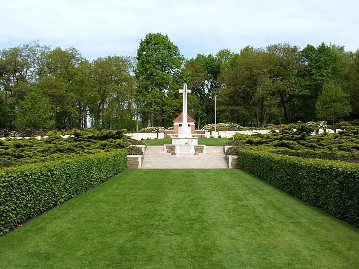 Gemneral view of Mook war cemetery