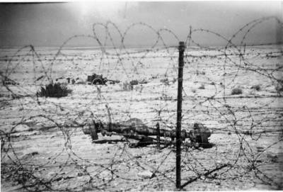 The perimeter wire Tobruk 1947